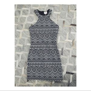 PARKER Printed Bodycon Dress (worn once)